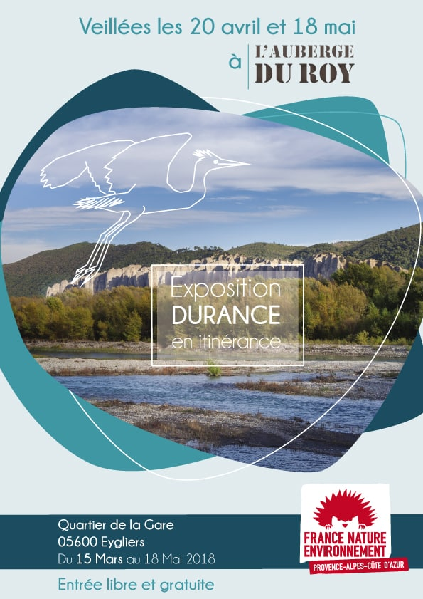 Exposition Durance auberge eygliers