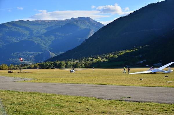 aerodrome saint crépin auberge eygliers hautes alpes