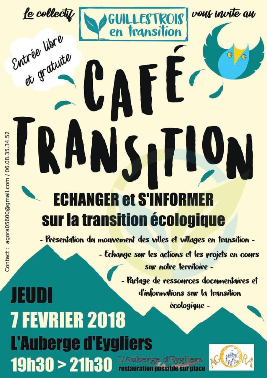 café des transitions énergétiques à l'Auberge d'Eygliers dans les Hautes Alpes
