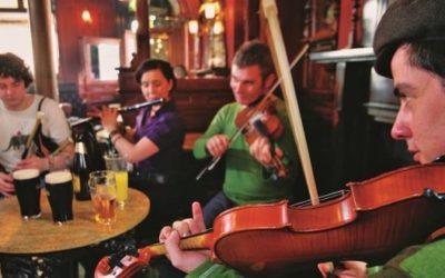 Scène ouverte de musique irlandaise – Auberge d'Eygliers – Hautes Alpes. Vendredi 18 janvier. 20h-23h.