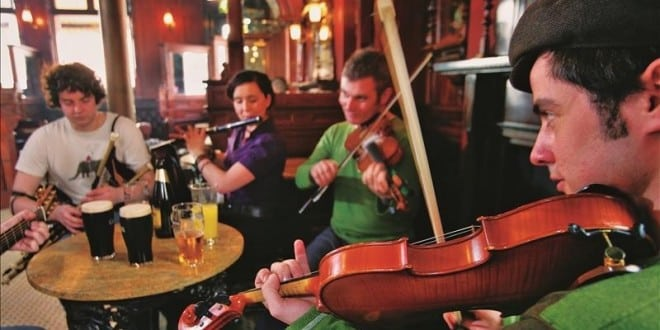 Musique Irlandaise Auberge Eygliers