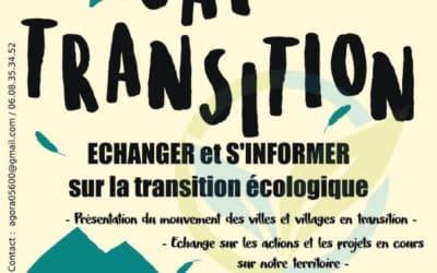 Café des transitions énergétiques à l'Auberge d'Eygliers