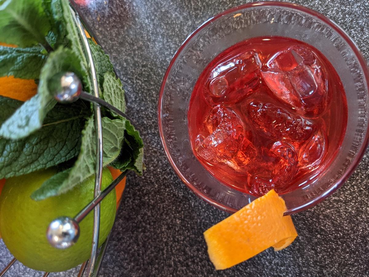 Cocktail Eygliers Bistrot Hautes Alpes